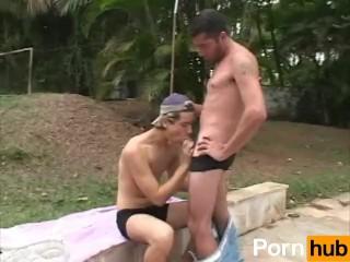 Poolside Pleasures - Scene 1