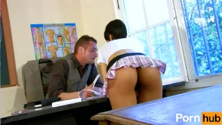 French schoolgirl discovers the meaning of Cock Realitygang.com mature