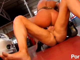 Laura Blume: One cock isn't enough to satisfy this blonde babe