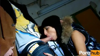 Leo Galvez seduced a hot Latina at the supermarket and fucks her silly