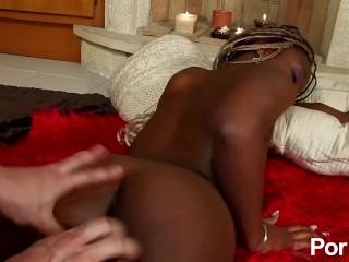 Ebony porn vaginal cumshots
