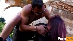 Spanish military man gets handcuffed by mystery woman