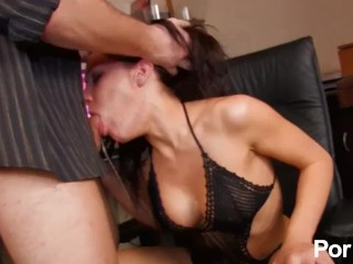 Spanish slut needs a fist in her pussy to cum