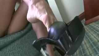 Cassandra Cruz showing sexy heels  feet trampling femdom fetish amateur pornstar