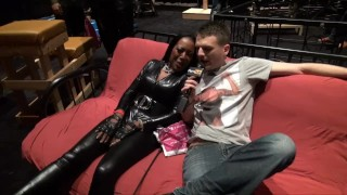 Preview 1 of PornhubTV Allan Gets Flogged at eXXXotica 2013