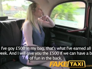 Preview 4 of Faketaxi mature blonde accepts indecent proposal