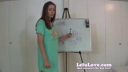 Lelu Love-June 2013 Cum Schedule