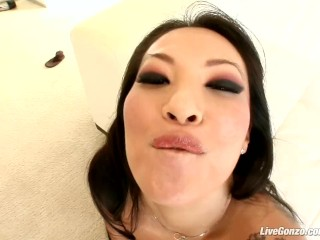 LiveGonzo Asa Akira Japanese Hardcore Hottie