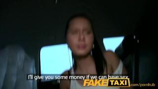 FakeTaxi Hot 19 year old in taxi cab scam porno