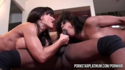 Misty Stone Threesome With Lisa Ann