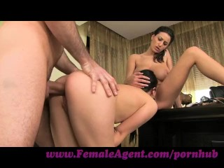 Www Pussy Tattoo Com FemaleAgent. Shy girl loves anal creampies