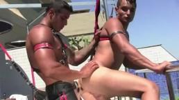 Rafael and Ivan Bareback Outdoors
