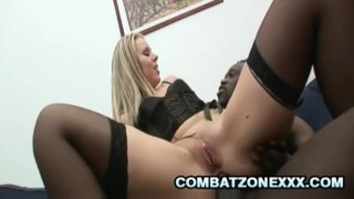 Euro MILF Candra Gets Ass And Pussy Worked Out By Black Schlong Boobs tranny
