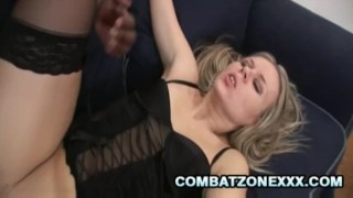 Euro MILF Candra Gets Ass And Pussy Worked Out By Black Schlong