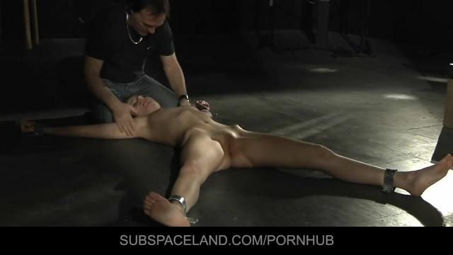 Marylin monroe bondage thumbs - Marylin has an vibrating bdsm orgasm