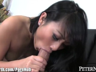 Sexy Chinese Teen POV Blowjob and Cum Swallow