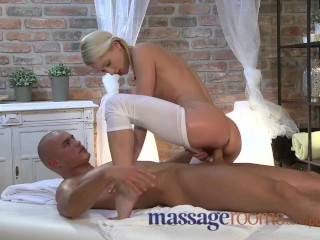 Amateur Eroprofile Massage Rooms Uma expertly massages two hard cocks to an intense climax