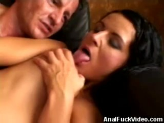 Analed And Jizzed On Hottie