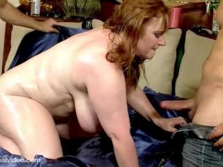 Preview 6 of Slutty Plump MILF Seana Rae Fucks Her Sons Friends