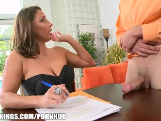 Zuzana Drabinova Dildo Reality Kings - Horny MILF employer needs proof of big cock