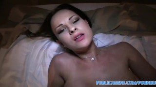 PublicAgent Real life pornstar lets me record my first porn scene