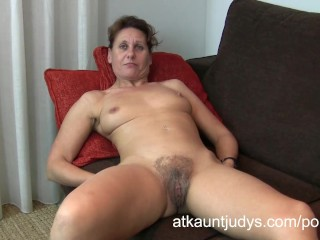 Spy Cam In Toilet Porn 47 - year old shy Milf Inge spreads her legs
