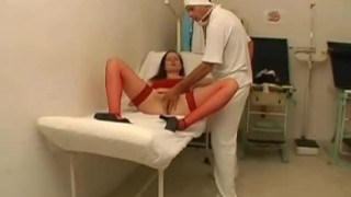 Nurse Gets Lucky With His Patient