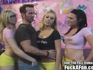 I Fucked My Drunk Aunt Incest Sexy Blonde Nicole Anniston fucks her fan Rusty