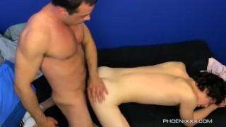 Mike Fucks His Boy Josh Hairy fingering