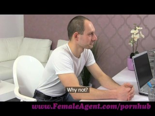 Preview 1 of FemaleAgent. New MILF agent likes it fast and hard