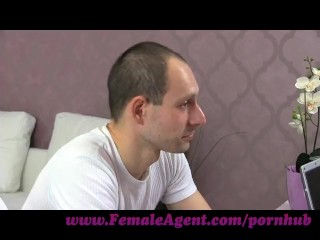 Preview 2 of FemaleAgent. New MILF agent likes it fast and hard