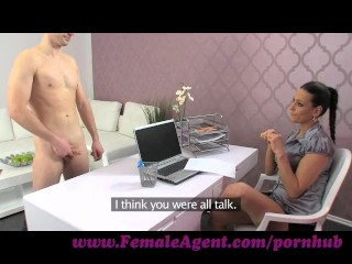 Preview 4 of FemaleAgent. New MILF agent likes it fast and hard