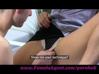 Preview 5 of FemaleAgent. New MILF agent likes it fast and hard