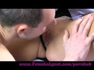 Preview 6 of FemaleAgent. New MILF agent likes it fast and hard