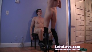 Stripper starts with regular lap dance, ends with handjob cumshot