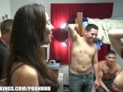 Dare Dorm - College dorm truth or dare game evolves into an orgy