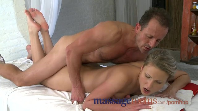 Clit pierce video - Massage rooms innocent young clits are aroused by mature masseuse fingers