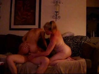 Milf Surprise Anal Lucky Guy Fucks Gf & Her Friend