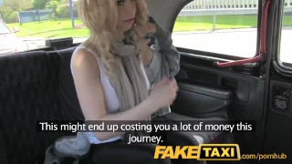 FakeTaxi Hot blonde tourist in first time blowjob - Pornitus