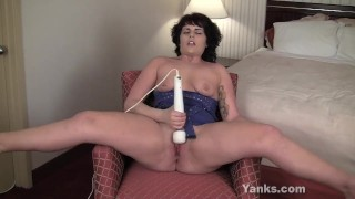 she force the tub makes girl uses hitachi wand to orgasm
