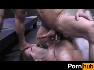 Hairy men drugged tied and castrated