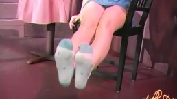 Ashley fires feet spit