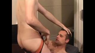 Scene spunk  gay amateur jerking face