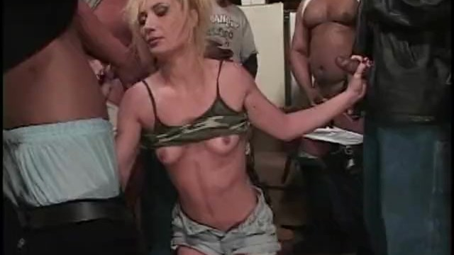 MILF Nina Elle blowjob handjob and titjob