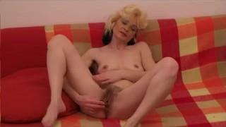 Smalltit on couch mature masturbates amateur orgasm