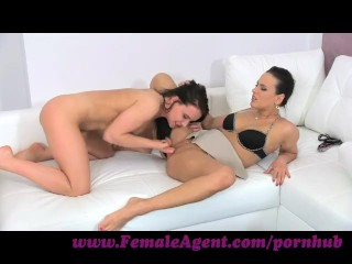 FemaleAgent Naughty, sexy minx up for anything