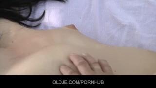 nude flaccid dick handjob