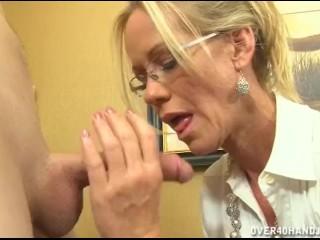 Sexy mature handjob seduction skirts videos