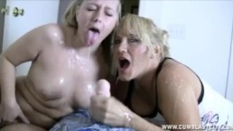 Double-Team And Cum Explosion