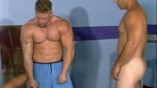Cock Sucking Body Builders